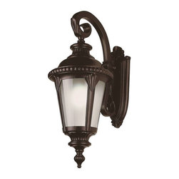 Trans Globe Lighting - Trans Globe Lighting PL-5045 BK Outdoor Wall Light In Black - Part Number: PL-5045 BK