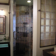 Contemporary Showers by mike foti