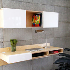 10 Space-Saving Wall-Mounted Desks | Apartment Therapy