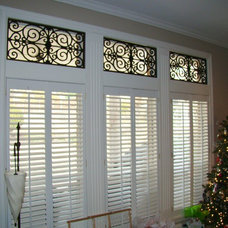 Traditional Roman Blinds by Avenue Window Fashions