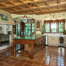 Mediterranean Kitchen by Rich Baum Photography