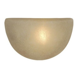 Vaxcel Lighting - Saturn Wall Sconce w/ Creme Cognac Glass - Vaxcel Lighting products are highly detailed and meticulously finished by some of the best craftsmen in the business.