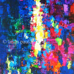 "Northern Light Art Paintings and Artwork for sale - Northern Light - abstract painting on canvas size 24"" wide x 36"" tall"