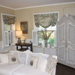 Armoire Makeover - Part of Living Room Makeover