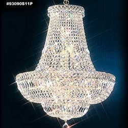 James R Moder - James R Moder 93090S11P Promo 1 Collection - SPECTRA� Swarovski� Crystal combine - In most designs, the major cost of a Crystal Chandelier is the price of the Crystal components. The quantity and shapes of the Crystal utilized to trim the Chandelier and most importantly, as in grades of diamonds, the crystal quality determines the price.