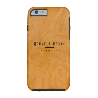 Classy Rustic Dante Orange Interior Designer Tough iPhone 6 Case Business Brandi - Corbin Henry