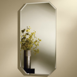 Mirage Recessed Medicine Cabinet - Create a unique focal point in your bath or powder room with the Mirage Recessed Medicine Cabinet.