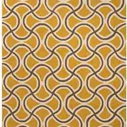 Jaipur - Barcelona BA28 Yellow Rectangular: 2 Ft. x 3 Ft. Rug - - Inspired by the rich history and range of design movements that have defined the architecture of Spain's cultural center the Barcelona Collection brings a transitional flair to any indoor or outdoor space. Whether the style leans towards fun boldly-scaled flourishes or understated simplicity this broad range offers something for every taste. Artfully developed in hand-hooked polypropylene Barcelona pairs the durability necessary to withstand the elements with the colorful spirit of the Catalonian countryside      - Construction: Hand-Hooked     - Indoor/Outdoor  - Pile Height: 0.25-Inch    - Care Instructions: Polyester is dirt and stain resistant and will look great for a long time just by vacuuming regularly Dries fast so deep steam/rug cleaning works great to release dirt from fiber If spills occur blot immediately Use rug/carpet cleaners that are safe on synthetic fibers Use professional cleaning agents only and to vacuum use an attachment arm or suction only to remove dirt particles. Jaipur - RUG115068