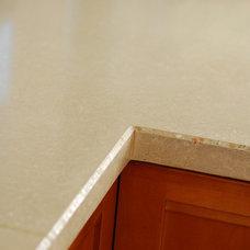Contemporary Kitchen Countertops by Miano Design Co.