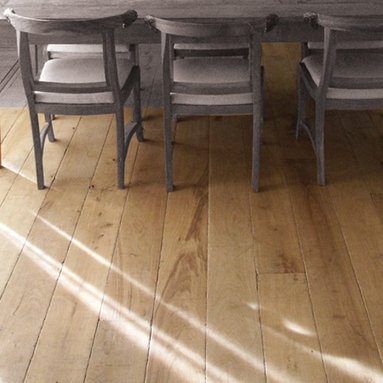 Bretagne French White Oak Floors - Bretagne's 6 seductive shades seamlessly blend rustic charm with contemporary style, making this Collection desirable for a variety of design settings. Each board is hand sculpted and treated with cements and chalks to achieve its distinctive white, blue or pink undertones—ultimately replicating the reclaimed look of French Oak from the Old Country.
