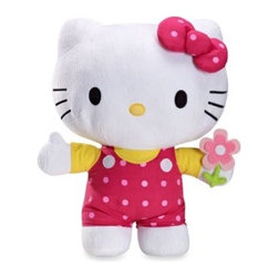 Hello Kitty - Hello Kitty Pillow Buddy - This super-cute Hello Kitty pillow is a great accent for your daughter's bedroom, and makes the Hello Kitty comforter set come together. The pillow is soft and cozy and will be a delight to cuddle up next to.