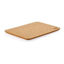 Bambu - Bambu Cork Taper Cutting Board - You love the idea of using a natural Cutting board in place of toxic,laden plastic, but the idea of the bacteria and other microbes that can colonize in wood doesn't make Cutting fruits and veggies on one seem appetizing or safe.