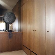 Contemporary Closet by Darren Palmer Interiors