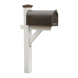 Phat Tommy - Eco-Friendly Mailbox Post in White - If you seek the natural look of wood, but would like a product that can be left outside year after year without the maintenance headaches of real-wood, then Highwood is for you. These pieces are a beautiful, elegant and durable choice for your outdoor living space.