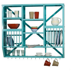 eclectic dish racks by kingfisherhouse.dk