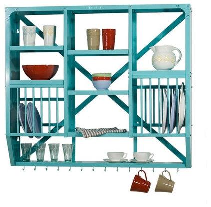 Eclectic Dish Racks by kingfisherhouse.dk
