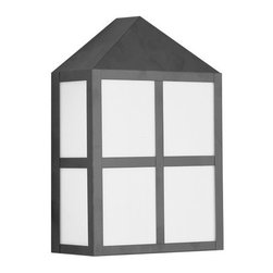 Livex Lighting - Livex Lighting 2999 2 Light 36W Outdoor Wall Sconce - 2 Light 36W Outdoor Wall Sconce with PL Bulb Base and White Acrylic Glass from Outdoor Basics SeriesProduct Features: