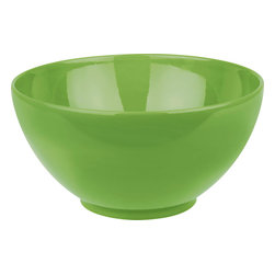 Waechtersbach - Fun Factory Dipping Bowls, Green Apple, Set of 4 - Stylish design and bright color come together effortlessly in this set of Fun Factory Green Apple Dipping Bowls. Use as condiment bowls or for serving your favorite sauces. The perfect choice for anyone who loves to entertain.