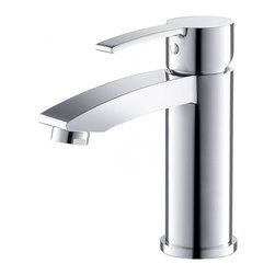 Fresca - Fresca FFT3111CH Livenza Single Hole Mount Bathroom Vanity Faucet - Chrome - Fresca FFT3111CH Livenza Single Hole Mount Bathroom Vanity Faucet - Chrome