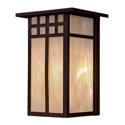 """The Great Outdoors - The Great Outdoors GO 8602-PL 1 Light 11.63"""" Height Outdoor Wall Sconce from the - Single Light 11.63"""" Height Outdoor Wall Sconce from the Scottsdale IICollectionFeatures:"""