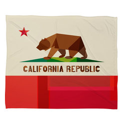 DENY Designs - Fimbis California Fleece Throw Blanket - This DENY fleece throw blanket may be the softest blanket ever! And we're not being overly dramatic here. In addition to being incredibly snuggly with it's plush fleece material, it's maching washable with no image fading. Plus, it comes in three different sizes: 80x60 (big enough for two), 60x50 (the fan favorite) and the 40x30. With all of these great features, we've found the perfect fleece blanket and an original gift! Full color front with white back. Custom printed in the USA for every order.