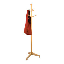 Winsomewood - Coat Tree with 6 Pegs - Simple yet nice design coat rack offer your guests a place to hang their hat. Features 6 pegs for holding coats, scarves, hats and more.