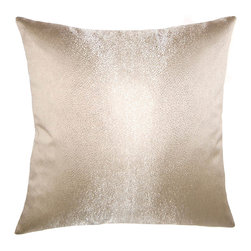 Square Feathers - Mayfair Pillow, Skin Pillow - A beautiful pillow with a shark skin texture that puts off a mesmerizing sheen. A great addition to any home decor!