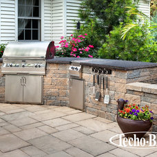 Contemporary Outdoor Grills by Techo-Bloc
