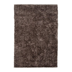 Jaipur - Flux Collection, Flux area rug by Jaipur FL09 - Personal expression reaches new heights with Flux, a beautiful range of plush, hand-woven shag rugs of 100% polyester. This chameleon is ideal for the contemporary design lover who enjoys mixing up his or her personal space often  acting as a rich background to a diverse palette of furnishings and accessories. Highly textured shag construction brings comfort underfoot while a palette of fashionforward solid hues commands attention in any room.