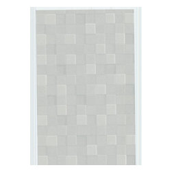 Graham and Brown - Fallon Wallpaper - Gray - It's hip for your walls to be square with this chic geometric paper. Elegantly neutral and designed to create the illusion of three-dimensional texture, it's a subtle but stunning statement.
