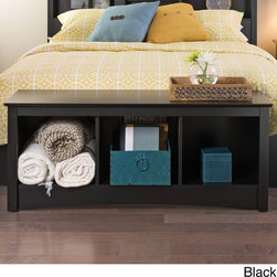 Sonoma - Wood Cubby Bench - Relax and store your things in style with this Sonoma wood storage bench featuring three large bottom compartments. Sit along the top of the bench or add a fun cushion for a custom look. This piece is ideal for a bedroom or entry environment.