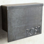 Standard Modern Mailbox by Austin Outdoor Studio - Why settle for a boring, old mailbox when you could hang this outside your door? I love this box. It adds a nice contemporary flair. What a treat for your postal worker!