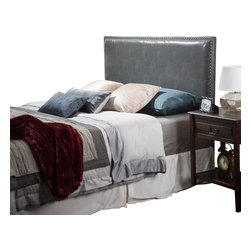 Great Deal Furniture - Westin Full-to-Queen Adjustable Leather Headboard - The Westin headboard is a great piece to add elegance to your bedroom. You can spruce up the look of any queen or full size bed with this headboard.