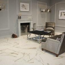 Modern Floor Tiles by Luxtone Marble & Porcelain Tile Store
