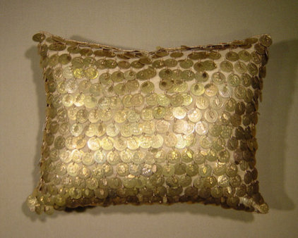 Eclectic Decorative Pillows by Hazelnut New Orleans