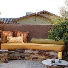 Rustic Exterior by Ernesto Garcia Interior Design, LLC