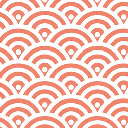 Chasing Paper - Circle Pop Orange S002001 Wallpaper Panel - Circle Pop Orange S002001 Wallpaper Panel is Self-adhesive.Collection name: Self Adhesive Wallpaper PanelSize of each panel is 2 feet by 4 feet.This trendy wallpaper panel with Circle pop pattern in orange color gives a elegant look to your home. Also, the wallpaper panel is removable and easy to install.