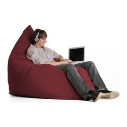 "jaxx - Pillow Sac Bean Bag Lounger - Velvish Espresso and Velvish Merlot on sale now! Features: -100% Shredded furniture grade urethane foam / nylon liner / polyester microsuede / premium microfiber exterior cover.-Luxury oversized foam filled floor pillow with a removable designer cover.-Extremely versatile.-It can be used as a bean bag chair, a pillow, a crash pad for napping, infants or sleepovers.-Liners are nylon rip stock with a child safety zipper.-Covers zip off for machine washing.-Totally awesome in every way.-It is loved by teens, kids, adults and pets alike for its ability to be molded into any kind of seat.-Straddle it to play games.-Flatten it out for a belly flop or flip it and make a cozy loveseat for two.-It is your own personal throne of plush foam where you can watch your favorite TV shows or surf the Internet in total comfort.-Hop on and take a ride or bounce with it.-Earth friendly.-Made in the USA.-Collection: Jaxx Bean Bags.-Distressed: No.-Country of Manufacture: United States.-Material: Microsuede.-Fill Included: Yes -Fill Material: Urethane foam..-Removable Cover: Yes.-Product Care: Removable cover: machine wash cold, tumble dry..Dimensions: -Overall Product Weight: 32 lbs.-Overall Height - Top to Bottom: 15"".-Overall Width - Side to Side: 64"".-Overall Depth - Front to Back: 44"".Warranty: -Product Warranty: 1 year manufacturer parts warranty."