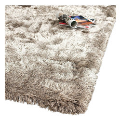 Safavieh - Shag Shag 8'x10' Rectangle Sable Area Rug - The Shag area rug Collection offers an affordable assortment of Shag stylings. Shag features a blend of natural Sable color. Hand Tufted of Polyester the Shag Collection is an intriguing compliment to any decor.