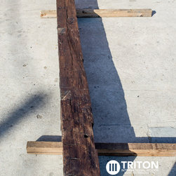 Reclaimed Oak mantel beam - Image #4: