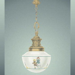 Buyenlarge - Nursery Lights 12x18 Giclee on canvas - Series: Lamps & Lighting