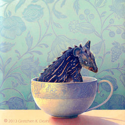 """Monster in a Teacup - Title: """"Monster in a Teacup"""""""