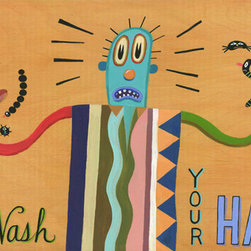 Hal Mayforth - Please Wash Your Hands Giclee Print From Hal Mayforth - Limited Edition