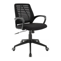 Modway Imports - Modway EEI-1250-BLK Ardor Office Chair In Black - Modway EEI-1250-BLK Ardor Office Chair In Black