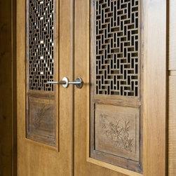 Custom Doors - Custom french door design by Amber Hobbs