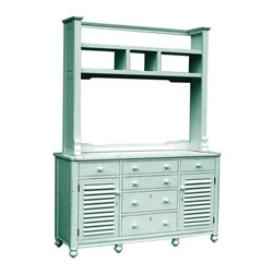 Trade Winds - New Trade Winds Entertainment Center Blue - Product Details