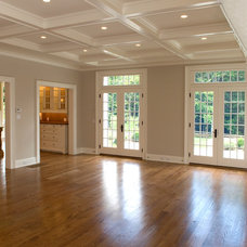 Traditional Family Room by RR Builders, LLC