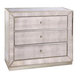 Bassett Mirror - Bassett Mirror Murano Drawer Hall Chest T2624-766EC - Bassett Mirror Murano Drawer Hall Chest T2624-766EC