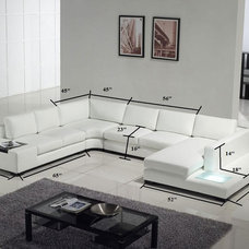 Modern Sectional Sofas by Vons Furniture