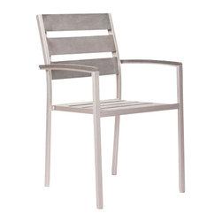 Metropolitan Slated Armchair - Metropolitan Slated Armchair